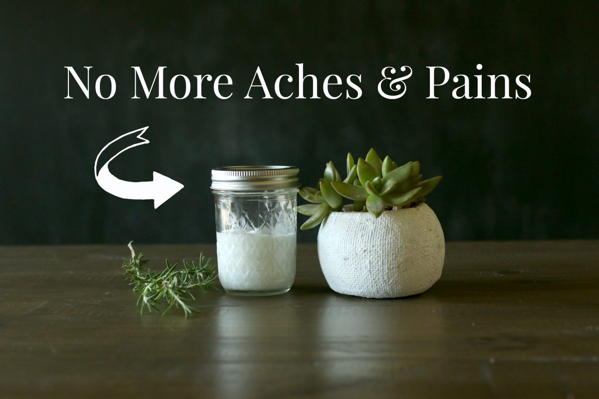Aches and pains? Here you go: