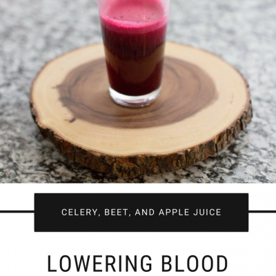 Small Steps for Bigger, Better Health: Juicing to Lower Blood Pressure