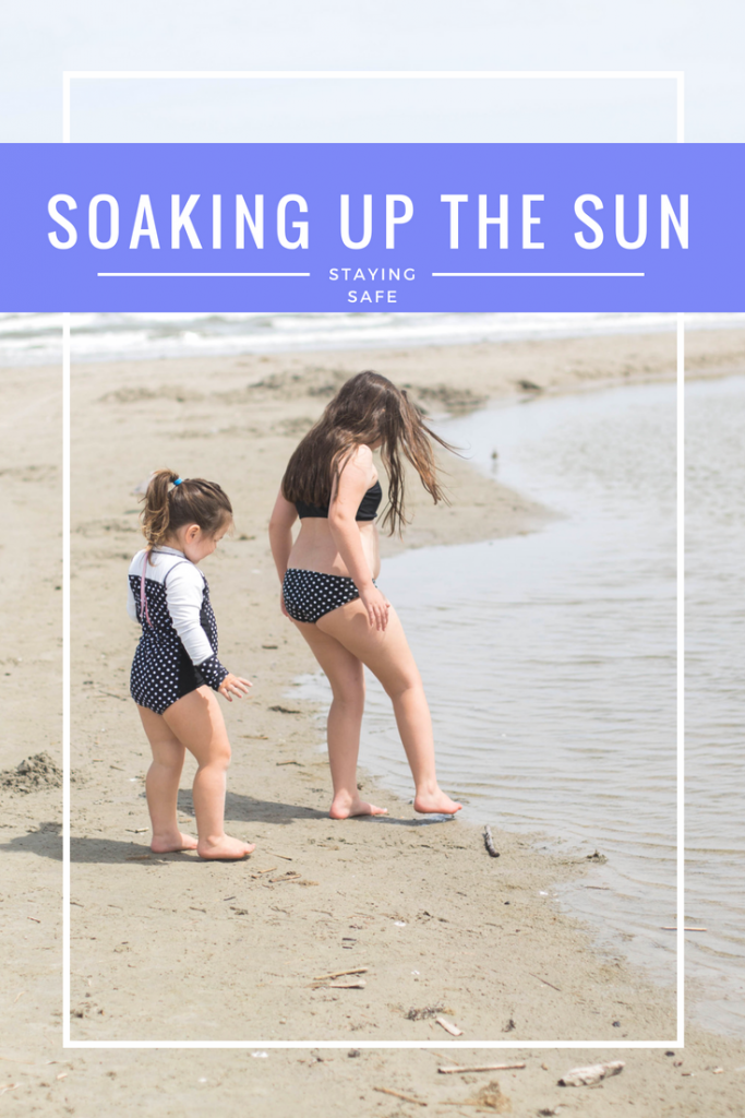 soaking up the sun while staying safe watch the clock and use spf upf lifestyle blogger houston blogger mommy blog 2018
