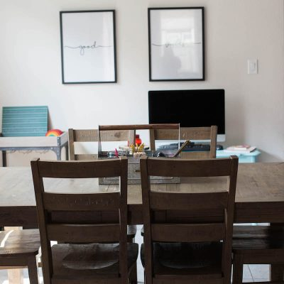 Back to Homeschool: a Simplified Space