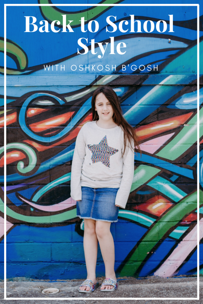 Back to school kids style with OshKosh B'gosh. Houston lifestyle blogger
