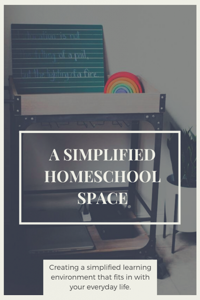 Back to Homeschool: a Simplified Learning Space.